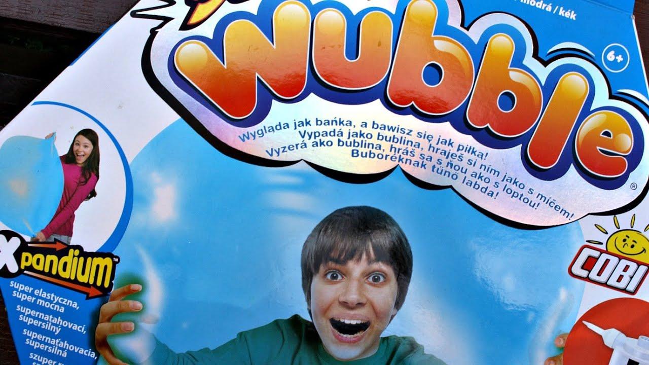 Ogromny Cobi - Super Wubble - Niebieska Bańkopiłka - Baw się Bańką jak DP25