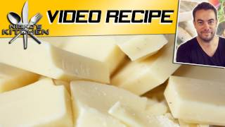 White Chocolate Fudge - Video Recipe