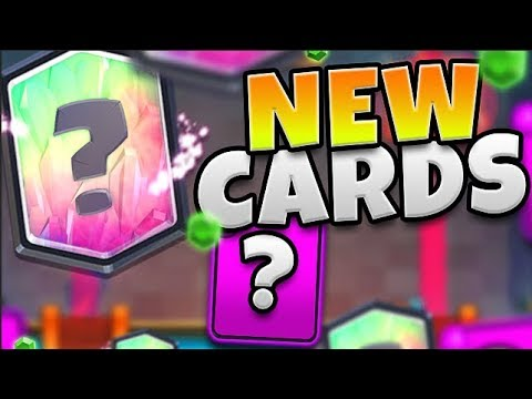 NEW CARDS in CLASH ROYALE!!