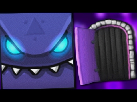 WHAT'S BEHIND THE SCARY DOOR? - Geometry Dash
