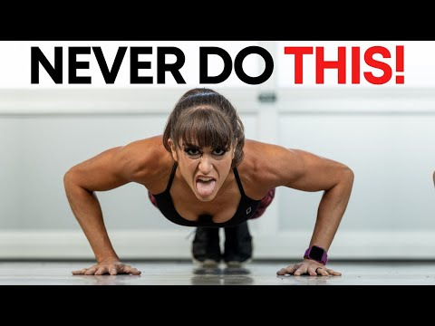 NEVER Do Push Ups Like This - Avoid These 4 Common Mistakes