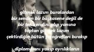 Erdal AKÇAOĞLU, Belki De Gitmek Lazım Buralardan - Kahraman Tazeoğlu