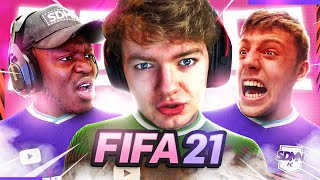 TOMMYINNIT RUINS OUR GAME (Sidemen Fifa 21 Pro Clubs)