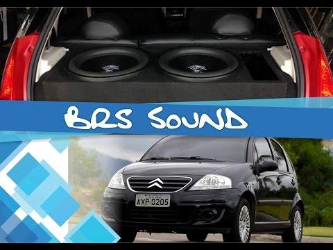 C3 original + Alpine + Ground Zero + JL Audio = Canal BRS Sound