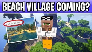 Minecraft Beach Village Coming 5 Villager Andamp Pillager Ideas Under Review