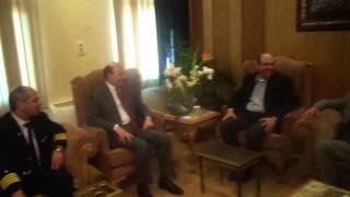 رئيس شركة مصر للطيران والفريق مميش