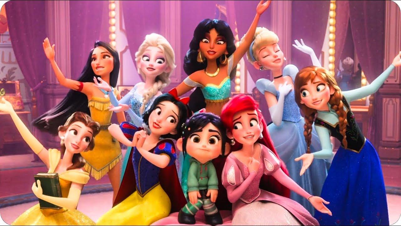 Ralph Breaks the Internet - All Disney Princess (Full ...
