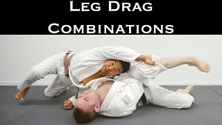 3 Bad Ass jiujitsu Open Guard Pass Techniques | Same Side Single Leg Drag Pass Combo