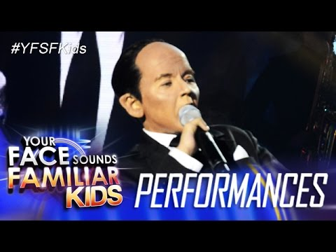Your Face Sounds Familiar Kids: Justin Alva as Paul Anka - Put Your Head On My Shoulder