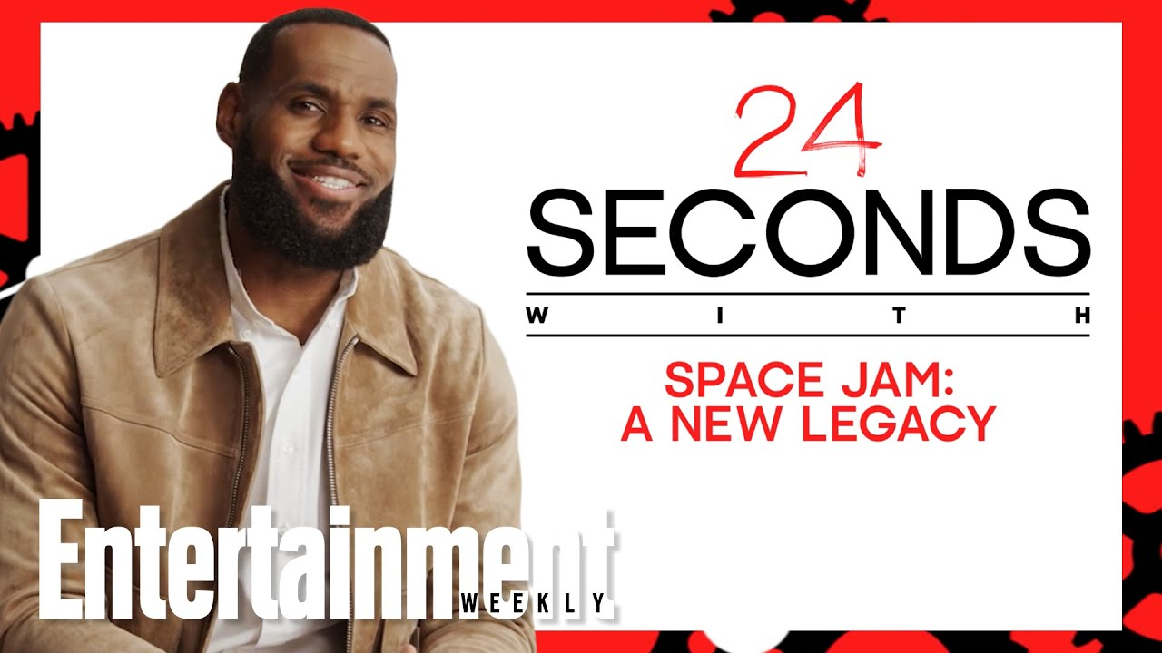 'Space Jam: A New Legacy' in 24 Seconds with LeBron James