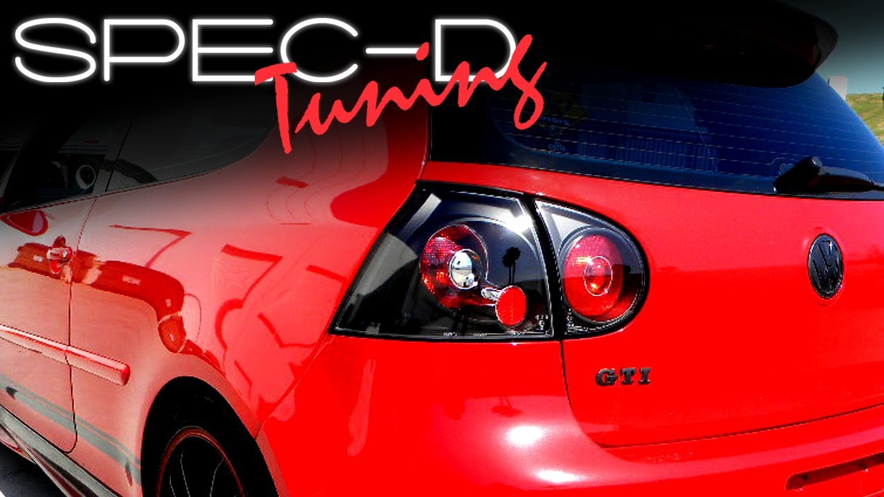 Delicieux SPECDTUNING INSTALLATION VIDEO: 2006 2008 VW GOLF GTI TAIL LIGHTS   YouTube