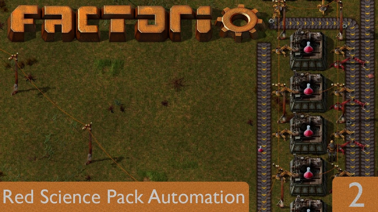Red Science Pack Automation | Factorio 0.15 | Part 2