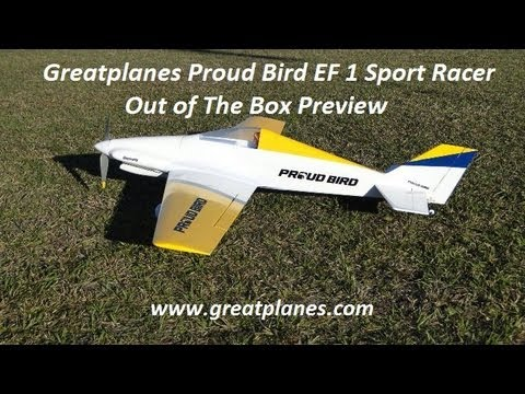 Greatplanes Proud Bird EF 1 Sport Racer  Out of The Box Preview