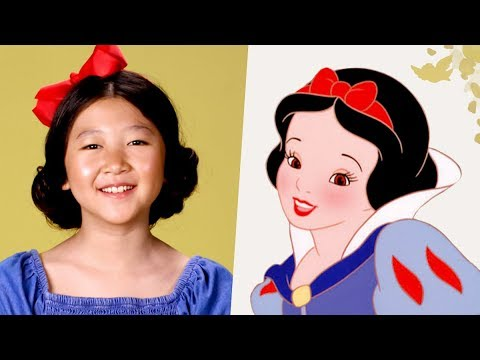 Hair Tutorial Inspired By Snow White | Disney Family