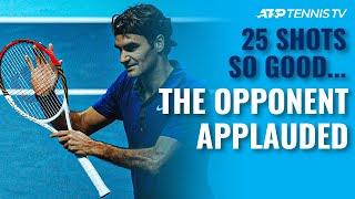 25 Tennis Shots SO GOOD the Opponent Had to Applaud 👏 screenshot 1