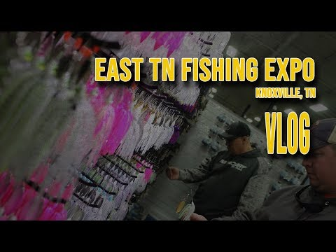 Vlog: Best Tackle Show Ever?! East TN Fishing Expo! Best Of Best!
