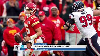 Chiefs S Tyrann Mathieu on Patrick Mahomes' Dedication to Winning | The Rich Eisen Show | 1/13/20