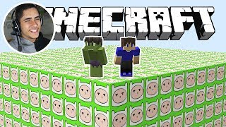 DESAFIO LUCKY BLOCK FINN no MINECRAFT
