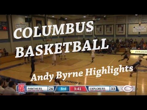 Andy Byrne - Senior Year Highlights - Christopher Columbus High School