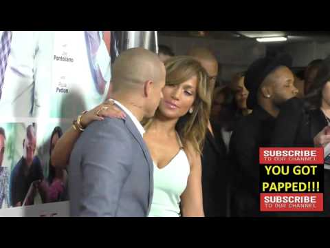 Jennifer Lopez and Casper Smart at the Premiere Of Lionsgate's The Perfect Match at ArcLight Theatre