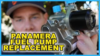 Step-By-Step Porsche Panamera High Pressure Fuel Pump (HPFP) Replacement  | Cayenne | Macan