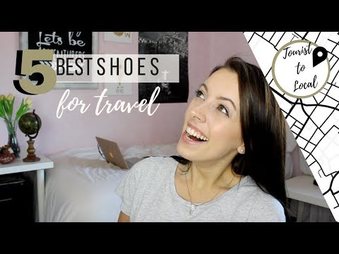 TRAVEL TIP | Top 5 Best Shoes for Travel