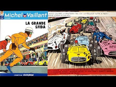 Michel Vaillant #01 - La Grande Sfida Fumetti Francesi Ed. Gazzetta Dello Sport