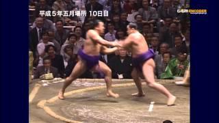 舞の海vs智ノ花 (平成5年五月場所)