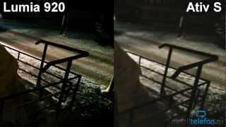 Nokia Lumia 920 vs Samsung Ativ S: сравнение камер ночью (camera comparison 1)