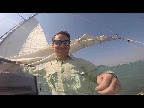 Sailing south from Brazil to Uruguay 2017