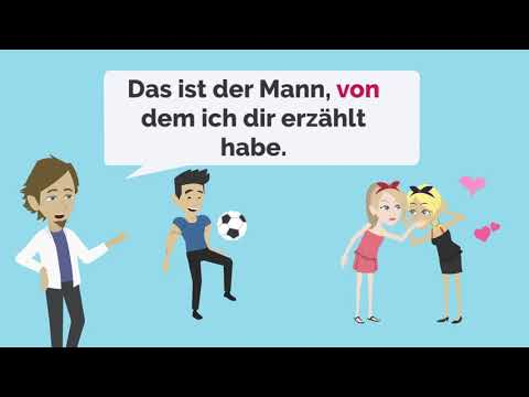 Verben mit Dativ und Akkusativ from YouTube · Duration:  1 minutes 47 seconds