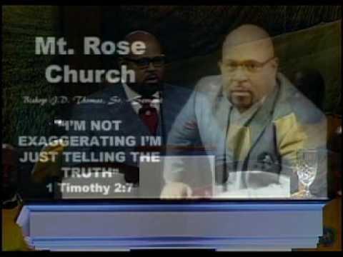 """4-16-2017 10:30am Bishop Jeffery D Thomas Sr 1 Timothy 2:7 """"I"""