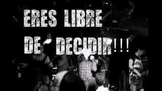 Free To Decide - Promesa al silencio (lyric video)