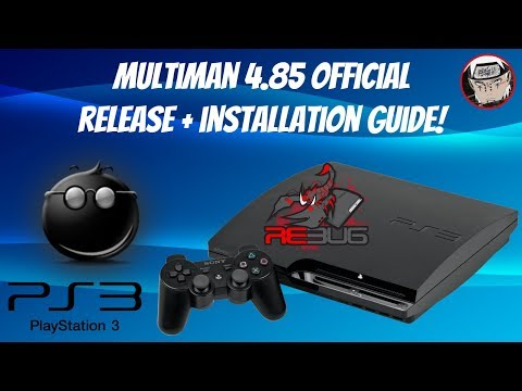 Multiman 4.85 Official Release + Installation Guide For PS3 (HEN-CFW)