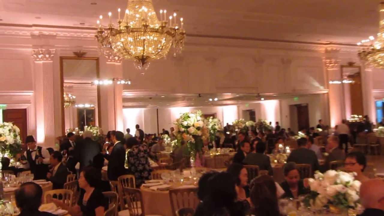 Dj Lighting Setup Richard Nixon Library Wedding For 450 Ppl