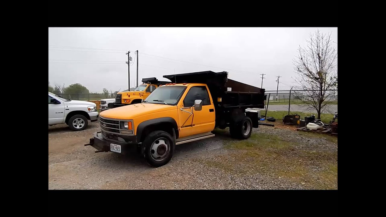 1992 chevrolet 3500 hd dump bed truck for sale sold at auction may 31 2013