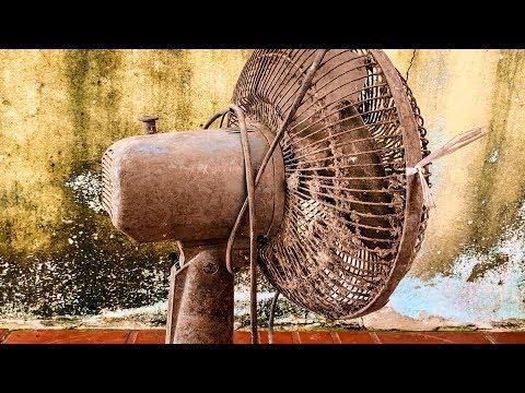 Restoration Old rusty table fan |Restore electric fan
