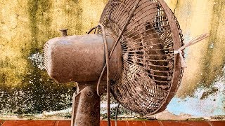 Restoration Old rusty table fan |Restore electric fan