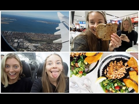 FLYING TO THAILAND + WHAT I ATE ON THE PLANE // VEGAN