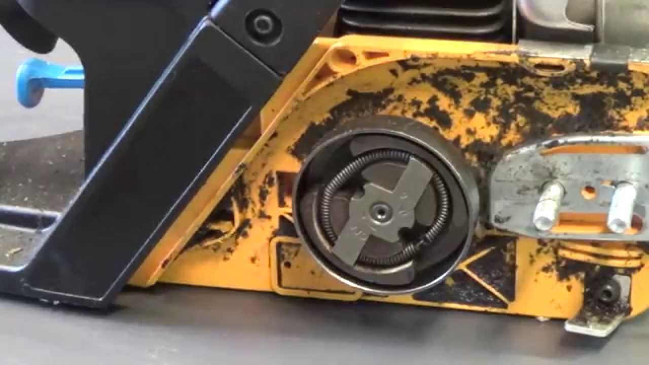 How to replace the clutch and sprocket on a poulan chain saw youtube keyboard keysfo Images