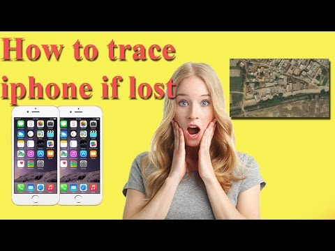 How To Trace Iphone If Lost