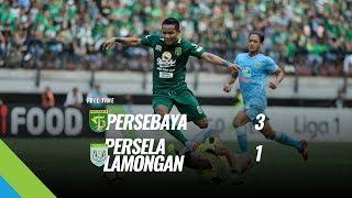 [Pekan 19] Cuplikan Pertandingan Persebaya vs Persela Lamongan, 5 Agustus 2018