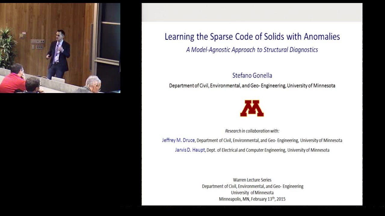 Warren Lecture Series - Stefano Gonella (Feb 13, 2015) - YouTube