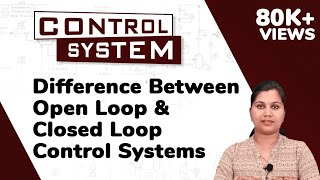 Difference Between Open Loop and Closed Loop Control Systems - Control Systems | Ekeeda.com
