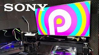 Unboxing (desembalando) Sony XBR-55X855G