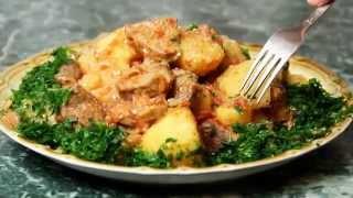 Очень вкусное Жаркое из свинины с картошкой - рецепт