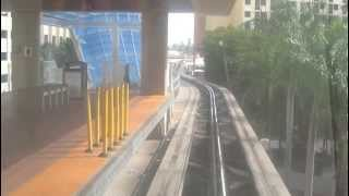 miami metromover movie jan 2013