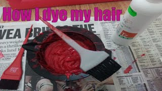 How I dye my hair (including hair tips on shampoo, conditioner, upkeep)