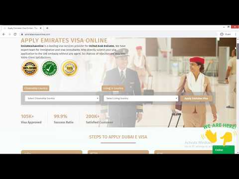 How To Apply Emirates Visa Online - Emirates Visa Services |