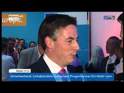 Europawahl - David McAllister im phoenix-Interview am 25.05.2014